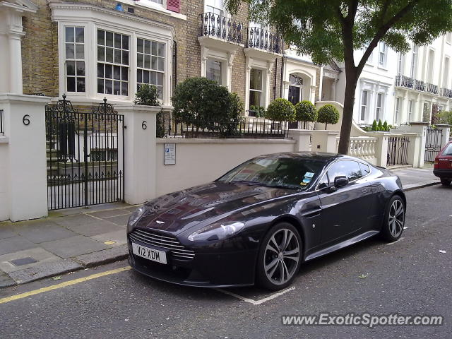 Aston United Kingdom  city photos gallery : Aston Martin Vantage spotted in London, United Kingdom on 06/21/2012