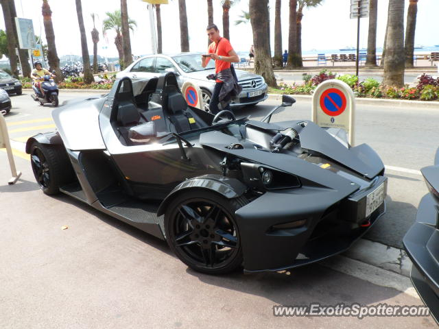 KTM X-Bow spotted in Cannes, France