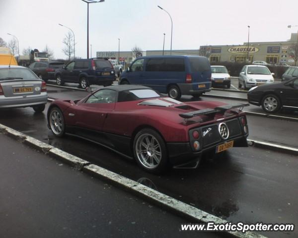 Pagani Zonda Spotted In Sandweiler Luxembourg On 09 03 2006