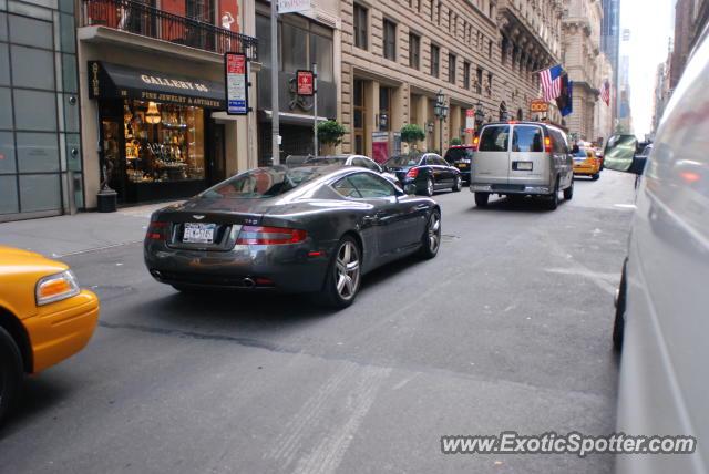 Aston Martin Db9 Spotted In Manhattan New York On 07 21 2012