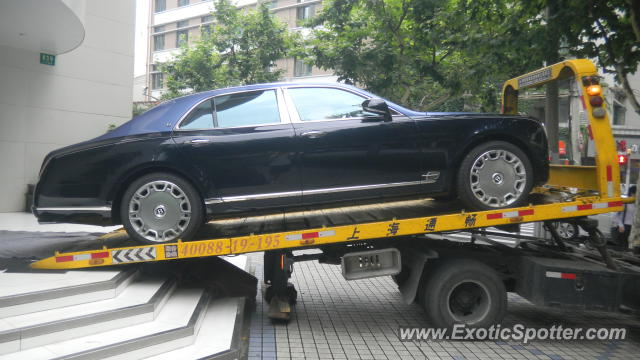 Bentley Mulsanne spotted in SHANGHAI, China on 06/15/2012
