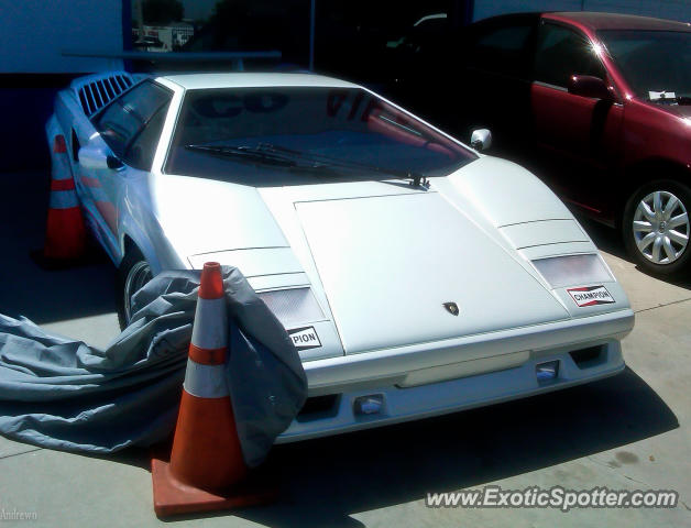 Lamborghini Countach spotted in Lomita, California