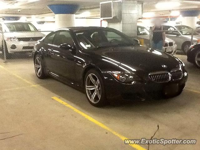 BMW M6 spotted in Boston, Massachusetts