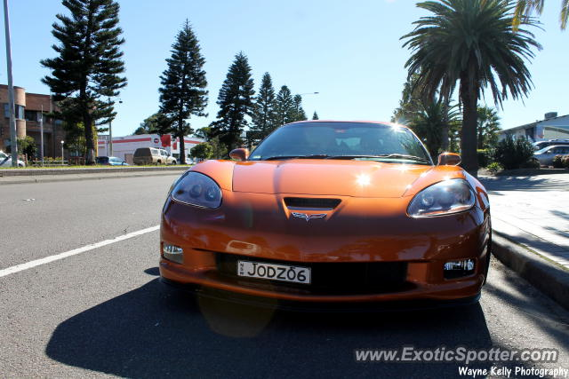 Chevrolet Corvette Z51 spotted in Newcastle, Australia
