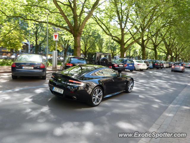 Aston Martin Vantage spotted in Düsseldorf, Germany