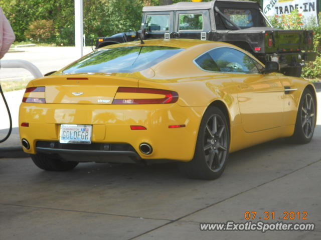 Aston Martin Vantage spotted in Northfield, Illinois