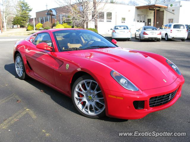 Ferrari 599GTB spotted in Westfield, New Jersey