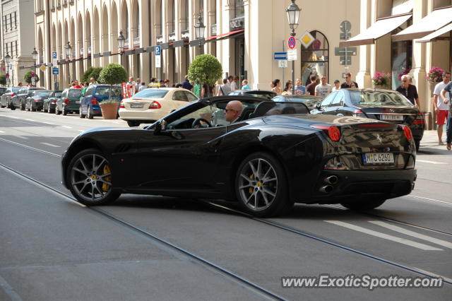 Ferrari California spotted in Munich, Germany