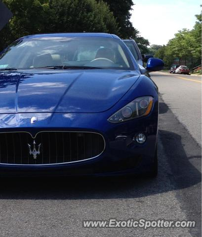 Maserati GranTurismo spotted in Needham, Massachusetts