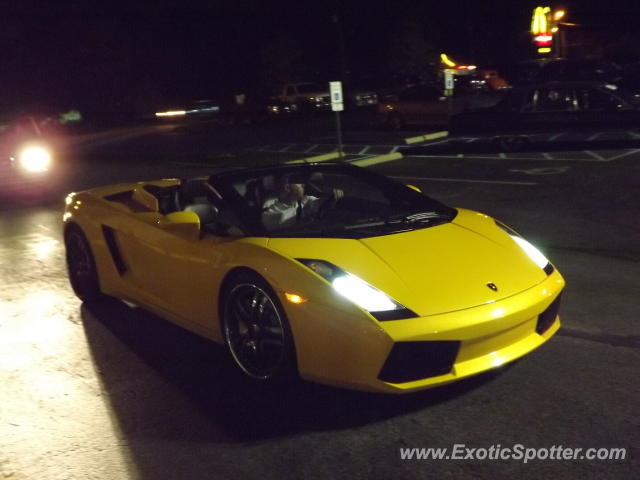 Lamborghini Gallardo spotted in Louisville, Kentucky