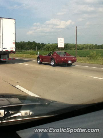 Chevrolet Corvette Z51 spotted in Road, Indiana