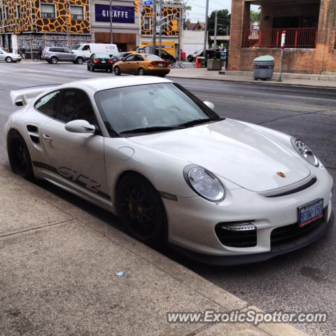 porsche 911 gt2 spotted in toronto ontario canada on 05. Black Bedroom Furniture Sets. Home Design Ideas