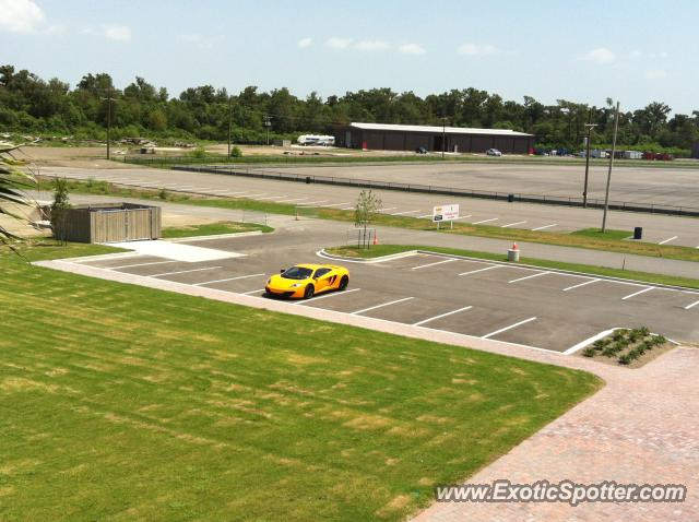Mclaren MP4-12C spotted in Westbank, Louisiana