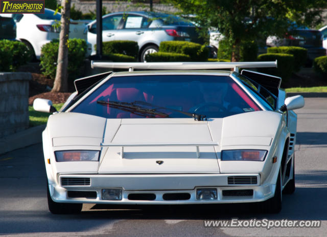 lamborghini countach spotted in franklin tennessee on 08 11 2012. Black Bedroom Furniture Sets. Home Design Ideas