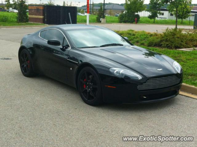 aston martin vanquish blacked out. aston martin vantage spotted in st louis missouri vanquish blacked out f