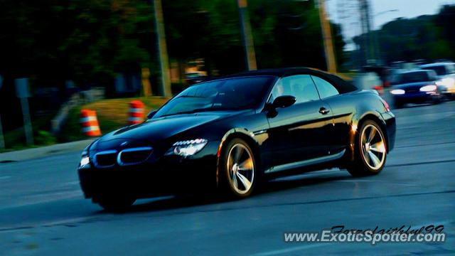BMW M6 spotted in Fishers, Indiana