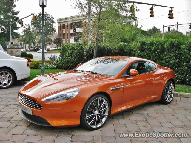 Aston Martin Virage Spotted In Atlanta Georgia On - Aston martin georgia