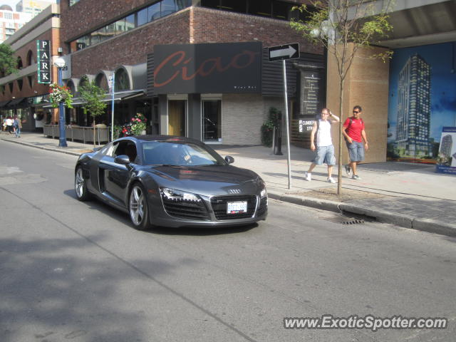 Audi R Spotted In Toronto Canada On - Audi toronto