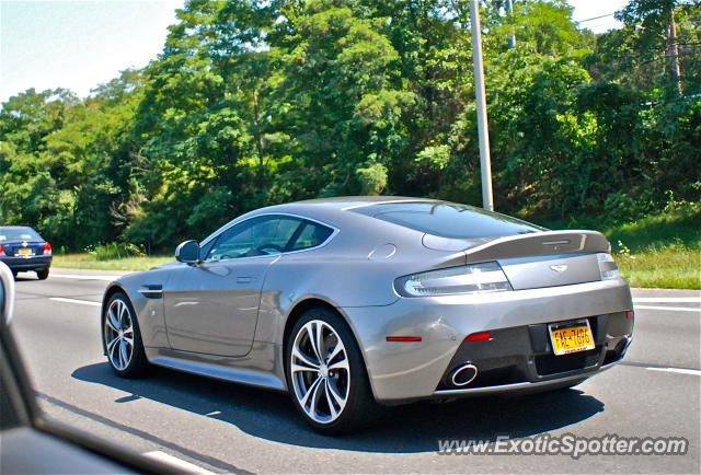 Aston Martin Vantage Spotted In Long Island New York On - Aston martin of long island