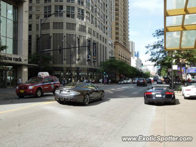 Aston Martin DBS Spotted In Chicago Illinois On - Aston martin chicago