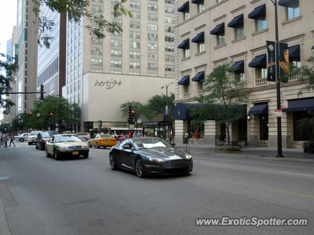 Aston Martin DBS Spotted In Chicago Illinois On Photo - Aston martin chicago