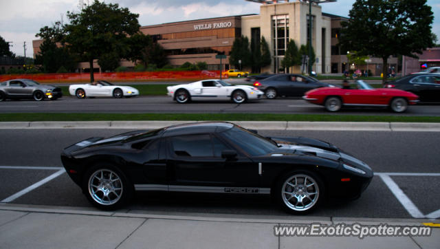 Ford GT spotted in Warren, Michigan