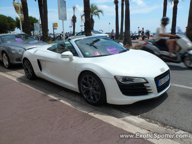 audi r8 spotted in cannes france on 07 02 2012 photo 2. Black Bedroom Furniture Sets. Home Design Ideas