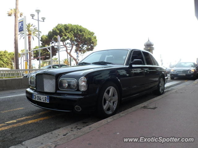 Bentley Arnage spotted in Nice, France