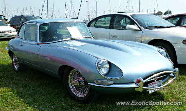 Jaguar E-Type spotted in Milwaukee, Wisconsin