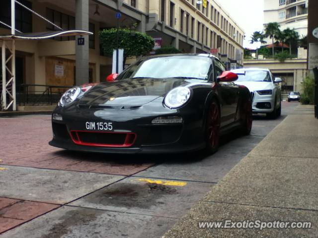 Porsche 911 GT3 spotted in Kuala Lumpur, Malaysia on 08/27/2012