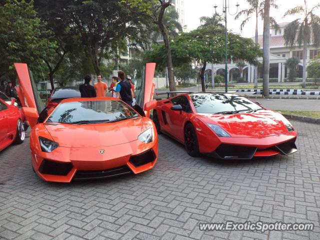 Lamborghini Aventador Spotted In Jakarta, Indonesia Home Design Ideas