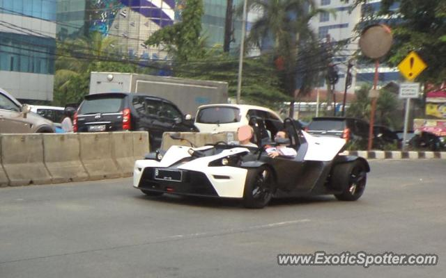 KTM X-Bow spotted in Jakarta, Indonesia