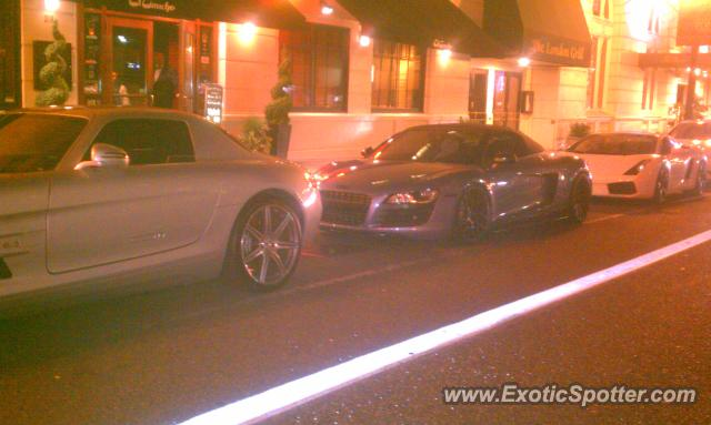 Mercedes sls amg spotted in portland oregon on 08 30 2012 for Mercedes benz downtown portland