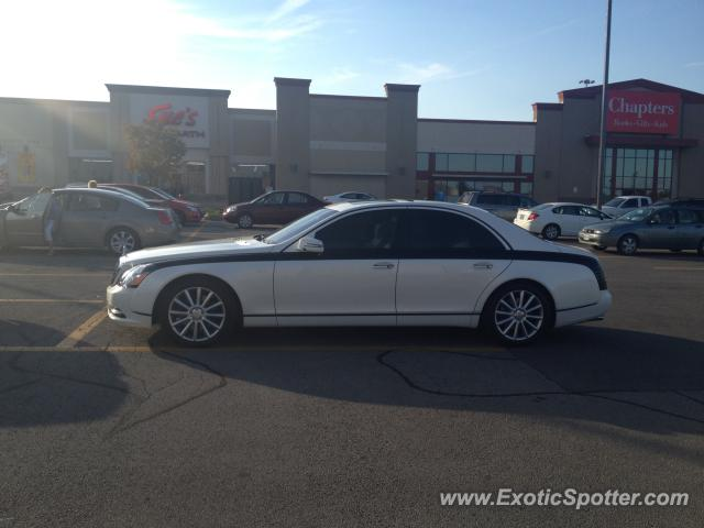 Mercedes Maybach spotted in Ancaster, Canada