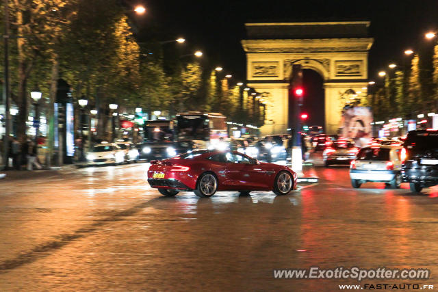 aston martin vanquish spotted in paris france on 09 01 2012. Black Bedroom Furniture Sets. Home Design Ideas