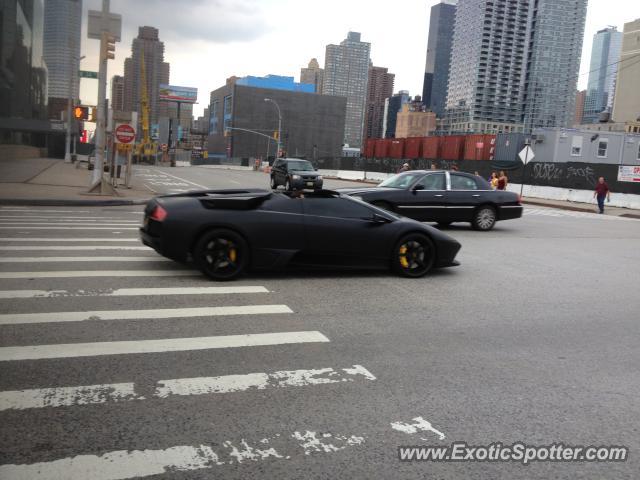 Lamborghini Murcielago Spotted In New York City New York