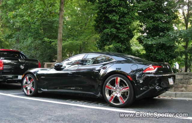 Julio Jones Car Fisker Karma spotted in