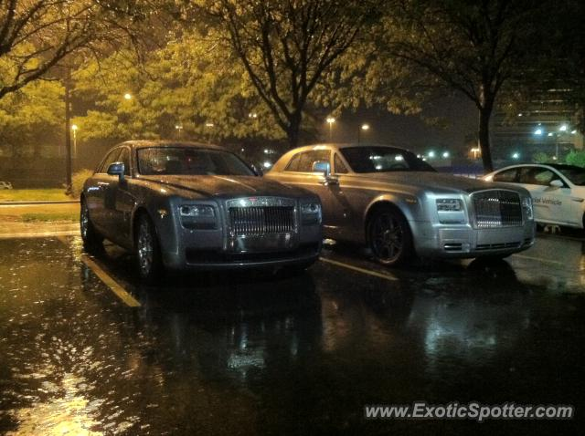 rolls royce phantom spotted in indianapolis, indiana on 09/07/2012