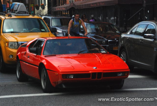 BMW M1 spotted in Manhattan, New York