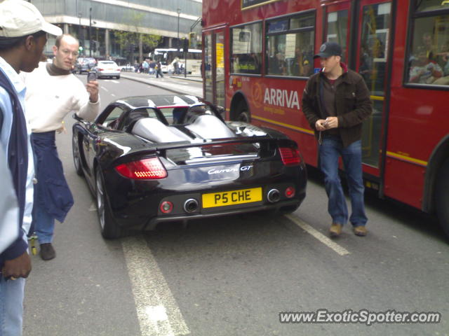 Porsche Carrera GT spotted in London, United Kingdom