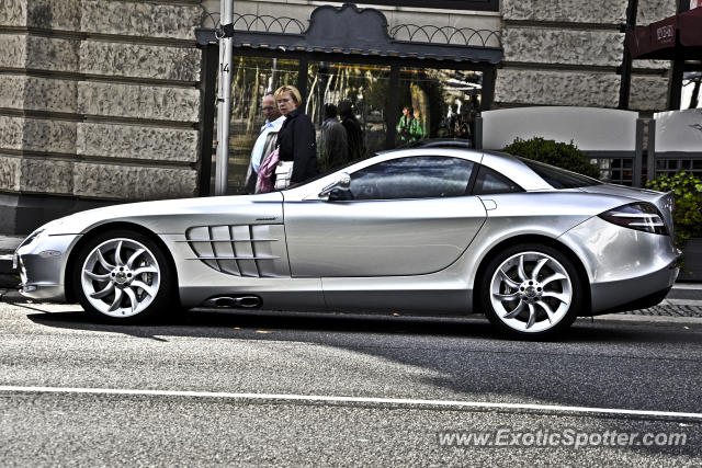 mercedes slr spotted in wiesbaden germany on 09 07 2012. Black Bedroom Furniture Sets. Home Design Ideas
