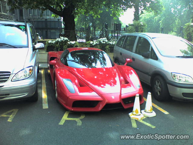 Ferrari Enzo spotted in London, United Kingdom