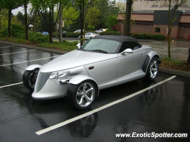 Plymouth Prowler spotted in Bellevue, Washington
