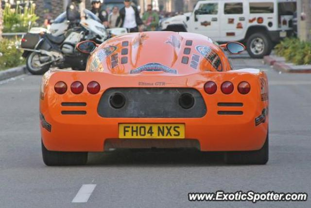 Ultima GTR spotted in Beverly Hills, California