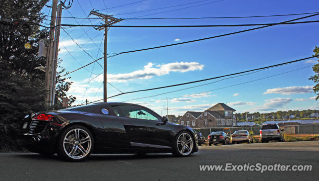Audi R8 spotted in Red Bank, New Jersey