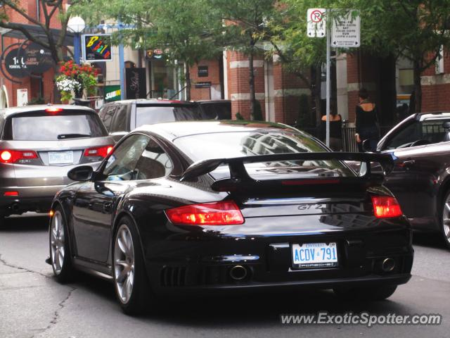 porsche 911 gt2 spotted in toronto canada on 09 09 2012. Black Bedroom Furniture Sets. Home Design Ideas