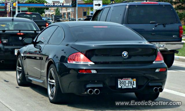 BMW M Spotted In Milwaukee Wisconsin On - 2011 bmw m6