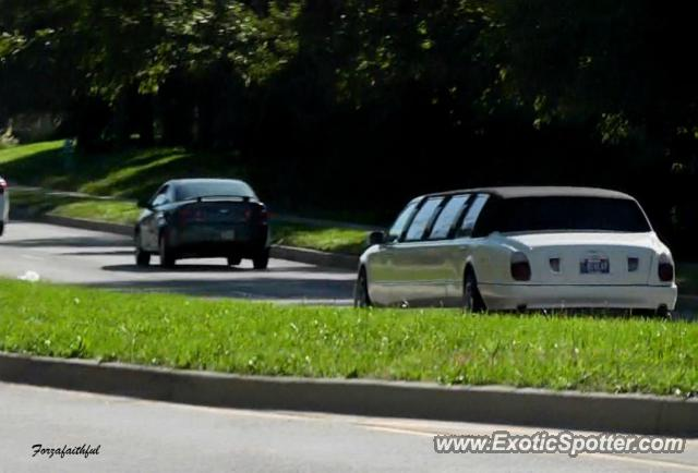 Bentley Arnage spotted in Fishers, Indiana