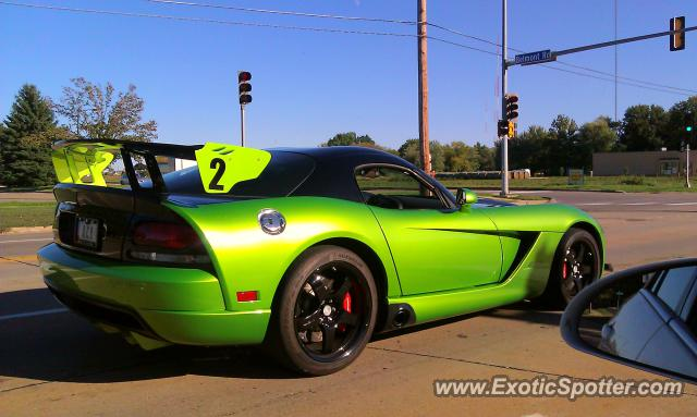 Dodge Viper spotted in Bettendorf, Iowa