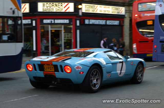 Ford Gt Spotted In Manchester United Kingdom
